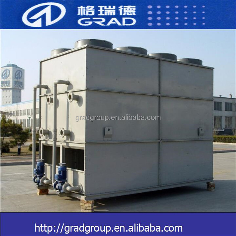 GRAD water saving evaporative condenser type closed loop cooling tower