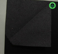 Virgin Pulp Black Craft Paper/Favorable Price Thin CardBoard/Black Latheroid paper