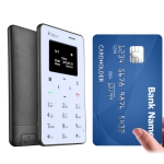 iNew Mini 1 0.96 inch Single Micro SIM Keyboard Card Mobile Phone, Support Bluetooth, <strong>GSM</strong>(Black)