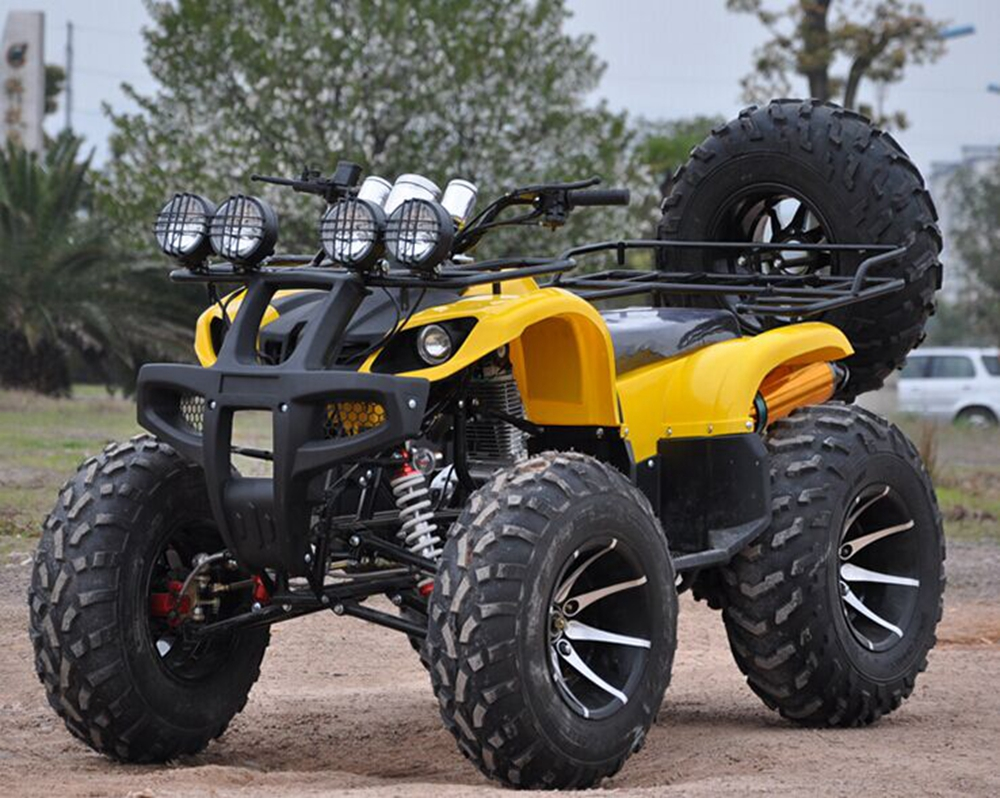 The factory sells the four-wheeled motorcycle all-terrain beach vehicle 125cc 150cc 200cc 250cc 300cc.