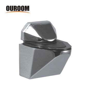 Ouroom/OEM Wholesale Products Customizable Stainless Steel 45 Degree Glass Clamp