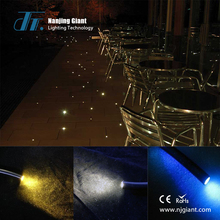 multi string end glowing fiber optic for decoration
