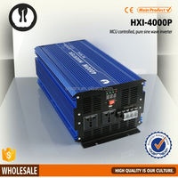 small size full power small solar soalr dc to ac power inverter 4000w with 1 year warranty