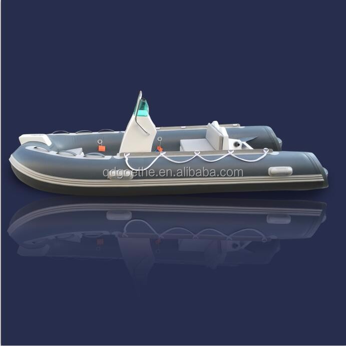 RIB360C Best for tourism and entertainment fiberglass rib boat