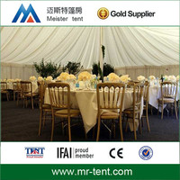 Elegant large wedding marquee tent with high quality