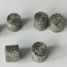 304 stainless steel knitted wire mesh washer / compressed snow foam lance mesh filter