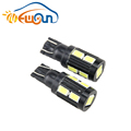 Wholesale T10 car led 5630 10smd turning light interior lamp backup light for bmw toyota Buick offroad suv atv