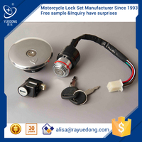 YUEDONG GN125 motorcycle engine parts, ignition start switch from China Wenzhou