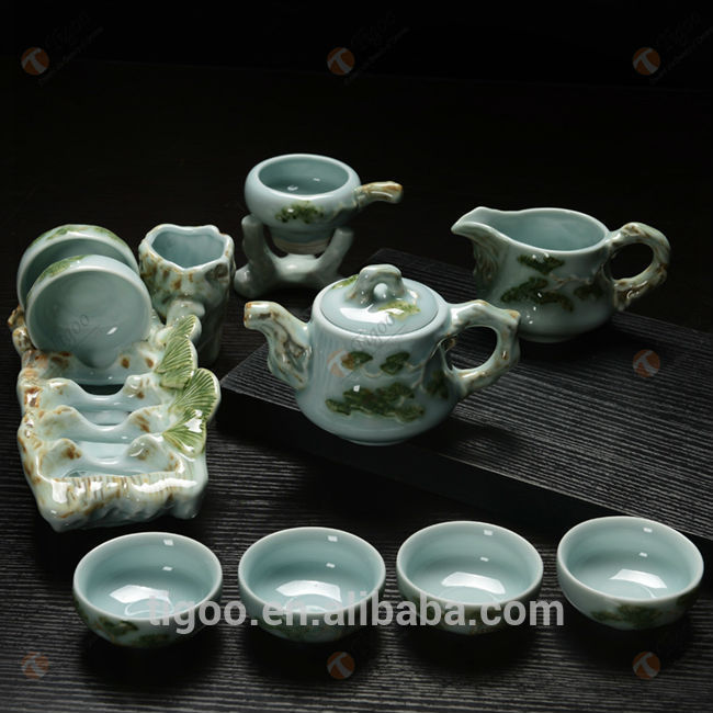 TG-411W490-C-1 korean tea set for wholesales arabic tea cup set