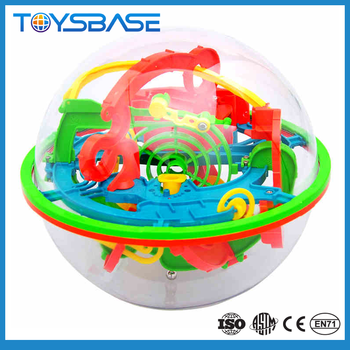 Magical 100 level ball toy plastic expand magic ball