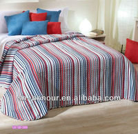 colorful cotton printing bedding set/ patchwork quilt