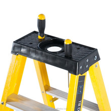 Heavy Duty Electricians Fibreglass Step Ladders Trade GRP Step Ladders