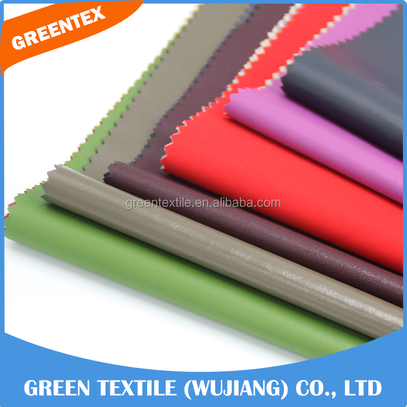 OJ18 Soft touch waterproof anti-fouling stretch imitation leather fabric