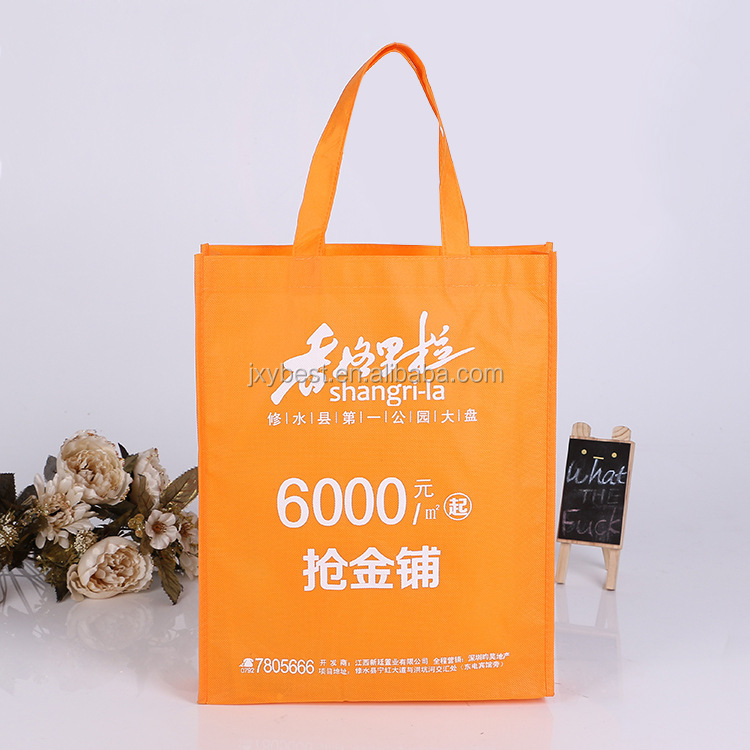 2016 China supplier Custom cheap promotional printing PP Non Woven shopping bag