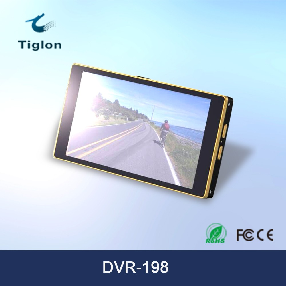 5 Inch TFT LCD Touch Screen 1080p Android Car DVR Camera
