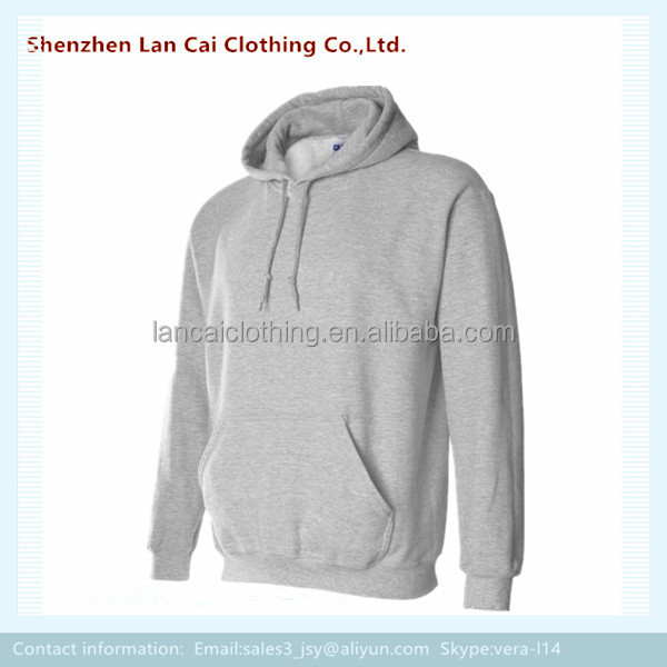OEM custom accept your own logo cheap fleece hoodie for men