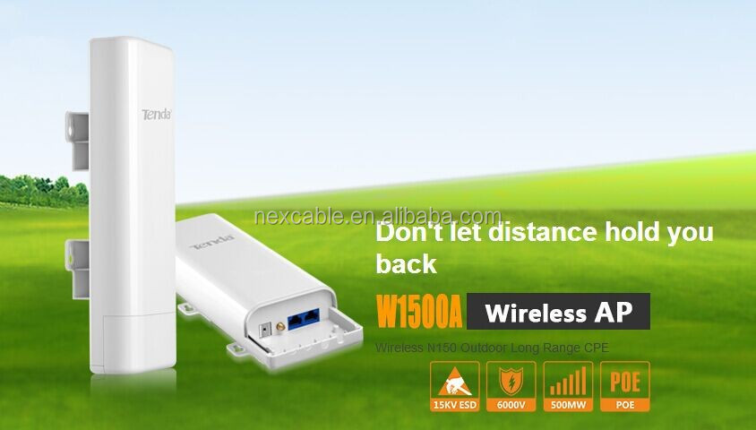 W1500A Wireless <strong>N150</strong> Outdoor Long Range CPE