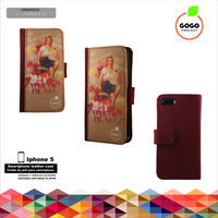 Smartphone sublimation leather cases