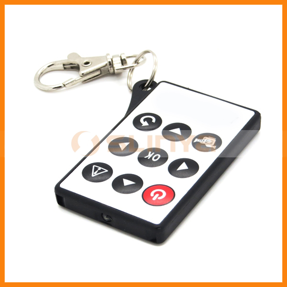 Key Ring Mini 45*40*6 mm Infrared IR TV Set Remote Control