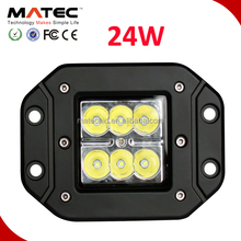 Super brightness 12 volt 24w led work light bar ,led work lamp, 24W led driving light with IP68