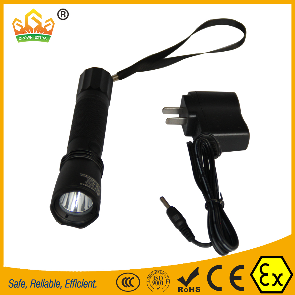 GYD7621 led explosion proof police flashlight