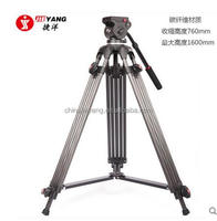 JY0606C Carbon Fiber Manfrotto compatible professional Video tripod