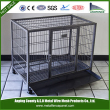 China wholesale heavy duty dog cage / aluminum dog car cage / foldable dog cage