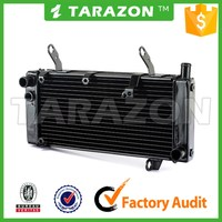 China Manufacturer aftermarket Aluminum alloy motorcycle radiator for street bike