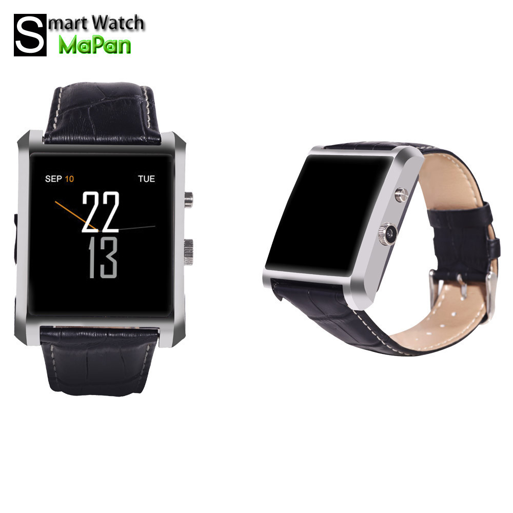MAPAN Metallic shell IPS touch screen smart watch made in china with tech support