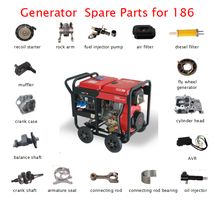 Good quanlity honda diesel Generator spare parts/accessories/Fittings made in taizhou china