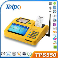Telepower TPS550 Fingerprint Wireless Loyalty Card POS Terminal