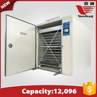 YFDF-120 most popular high quality automatic duck egg incubator