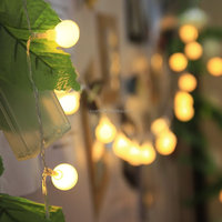 Outdoors Hanging warm white led string light bulb decorative light
