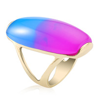 Alibaba rainbow color oval-shaped precious gemstone jewerly for women girls
