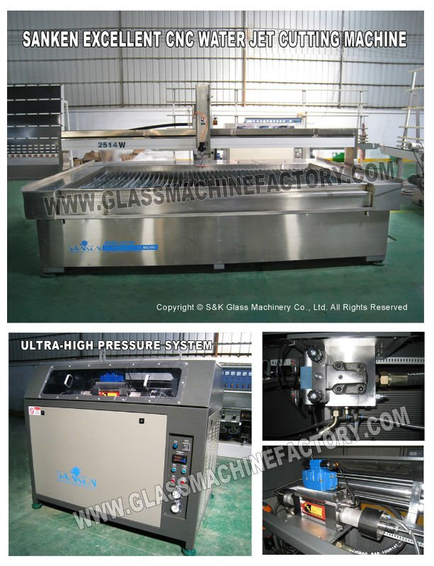 China Water Jet Cutting Machine For Tiles Price