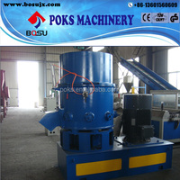 high productivity agglomerator plastic