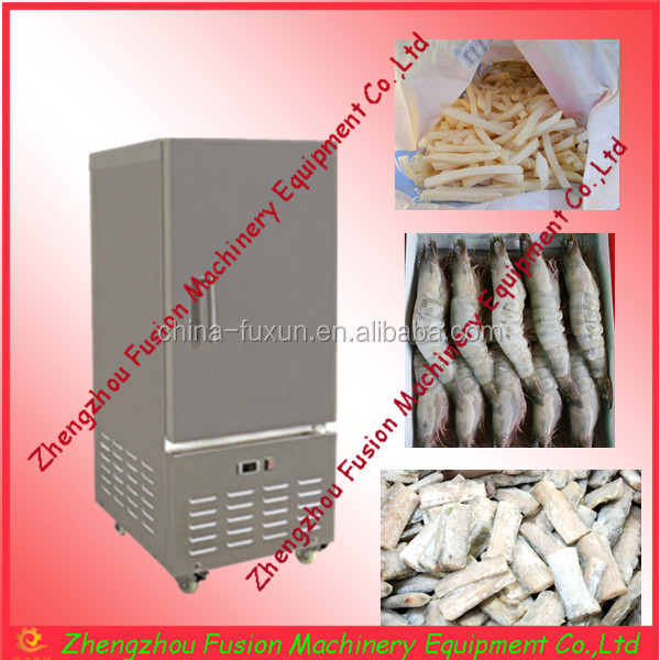 Rapid commercial food quick freezing freezers