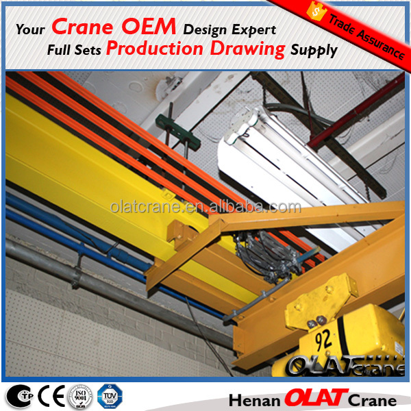 3D Design Drawing Customizeable OSLK Series Crane Safety Electrical Panel Bus Bar