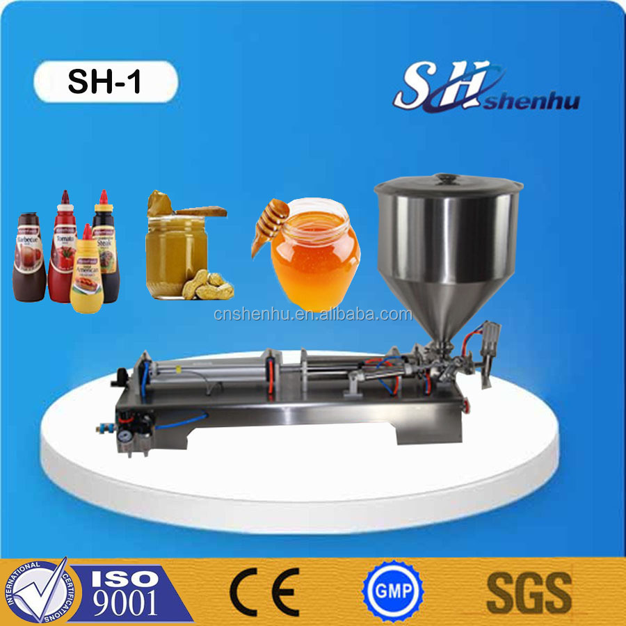 LOW PRICE cream/paste/liquid small filling machine for tomato sauce/honey