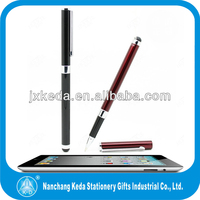2014 new 2 in 1 Metal Stainless steel pen 2013 promotional cheap gift screen touch pen