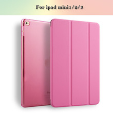 Joy Color Wake Up Cover Tablet Flap Cover Fortablet Housing For ipad mini2