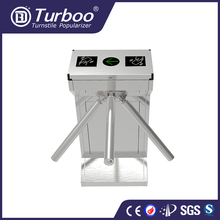 Turboo standard EL128: security stainless steel semi-auto three rollers turnstile for industrial facilities with factory price