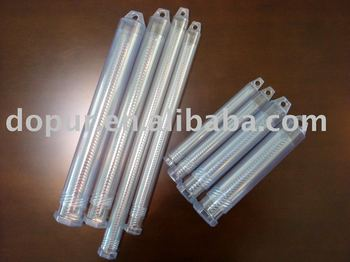 twist lock telescopic plastic tube