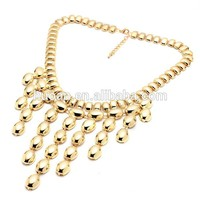 CHEAP PRICES TOP FASHION!!! shiny gold necklaces fashion necklace with wholesale price for 2015