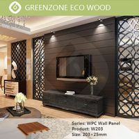 new arrival big size interior TV wall wpc indoor wall panel