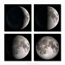Moon Waxes and Wanes HD Canvas Print for Living Room Bedroom Decoration Fashion Inner Decor Wholesale Ready to Hang
