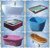 Embedded personal massager acrylic Bathtub with color pool lamp