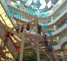 indoor soft play equipment high adventure ropes course