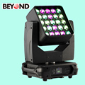 Dmx512 control 25x15 cheap moving head lights 4in1 rgbw matrix zoom light