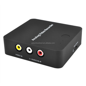 VOXLINK AV video Capture Analog to Digital Video Recorder Converter with Audio Video input AV HDMI Output to MicroSD TF Card